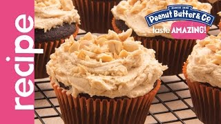 Chocolate Cupcakes With Peanut Butter Frosting Recipe