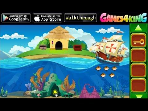 Прохождение игры games4king snail house escape