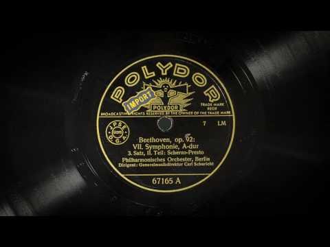 Carl Schuricht conducts Beethoven Symphony No. 7 - BPO 1937
