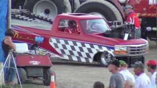Two Wheel Drive Truck Pulling Columbia County Fair NY 2012