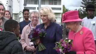 The Queen and The Duchess of Cornwall visit the Ebony Horse Club