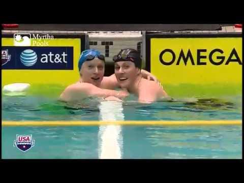 Missy Franklin & Katie Ledecky - Everybody