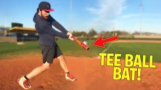 Can I Hit A Home Run With A T-BALL Baseball Bat