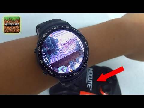 TEST - Play Minecraft On Cheap Android Smartwatch [ Wrist Edition ]