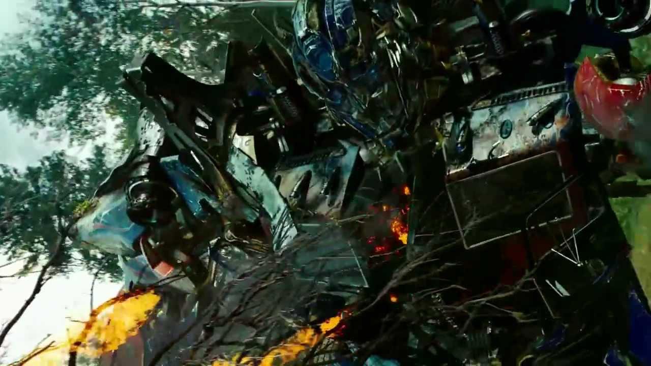 Transformers Revenge Of The Fallen Optimus Prime Vs Megatron Starscream Grindor