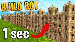 Hacker Uses Building Bot in Fortnite! | Fortnite Best Moments #59