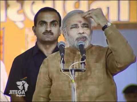 Narendra Modi's speech at Sadbhavna Mission in Amreli