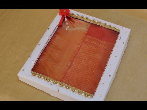 Saree Gift Packing | Wedding Trousseau Packing Ideas