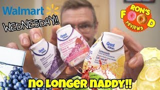 GREAT VALUE WATER ENHANCERS!! WAL MART WEDNESDAY!! TASTE AND REVIEW!!