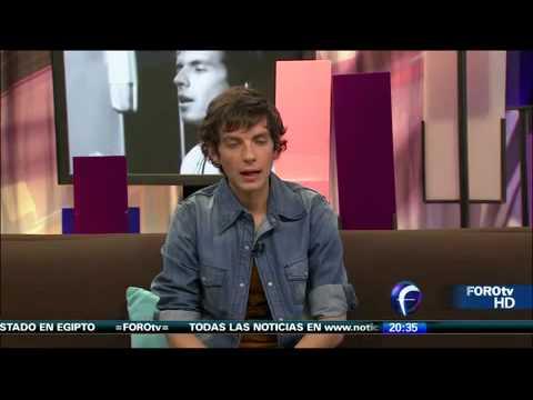 Camilo Blanes en presentación oficial del video