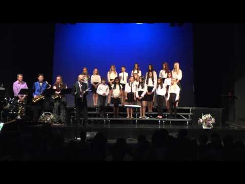 International School of Prague Middle School Choir Concert, May 6 2015