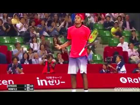 Nick Kyrgios Tribute SUSPENDED 2016