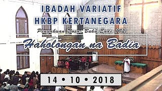 BE 182 Haholongan na Badia pengakuan dosa Ibadah Variatif HKBP Kertanegara 14 10 2018