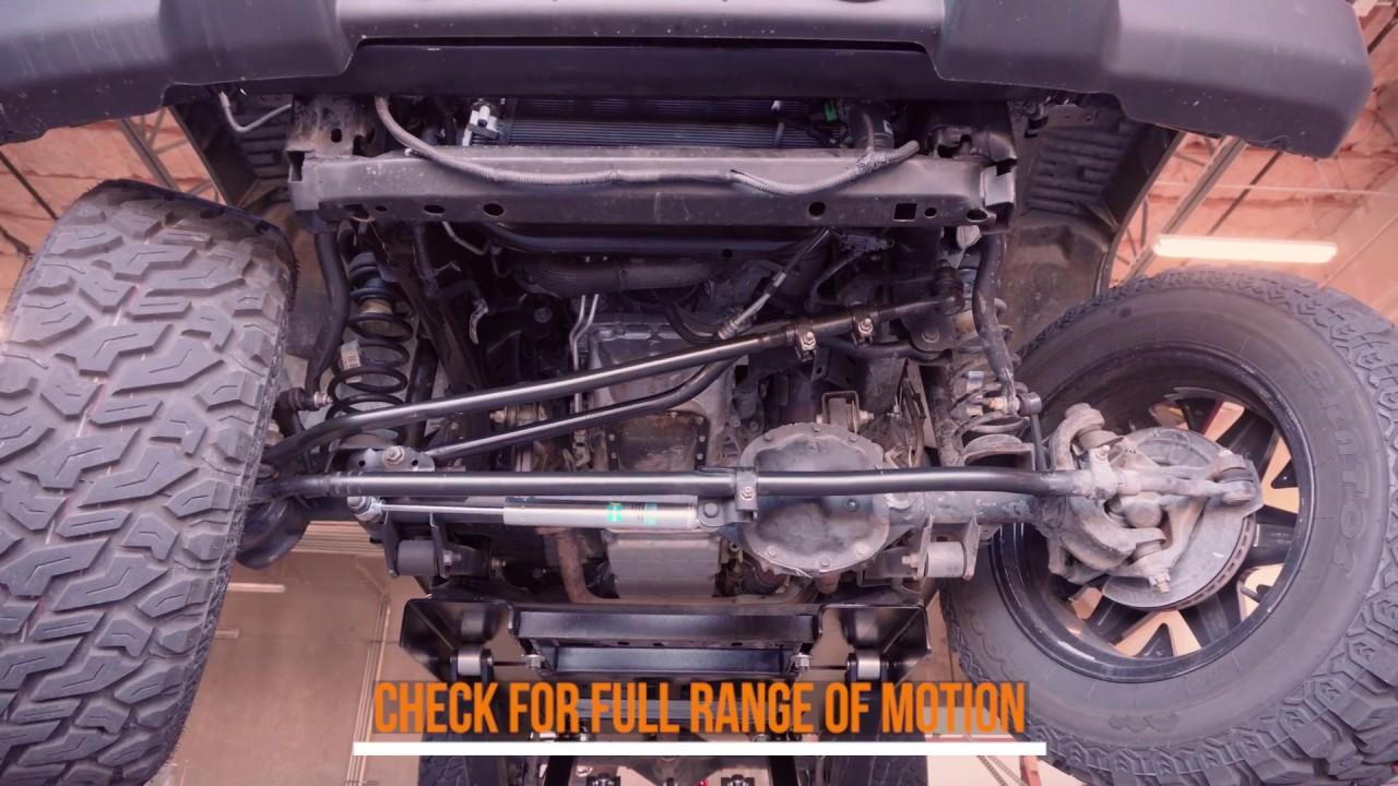 How To Install   Bilstein 5100 Steering Stabilizer | 2007+ Jeep JK Wrangler  24 158428