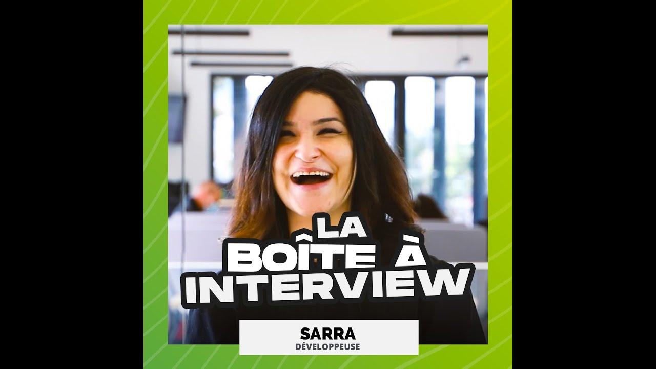 La Boite à Interview - Sarra, développeuse