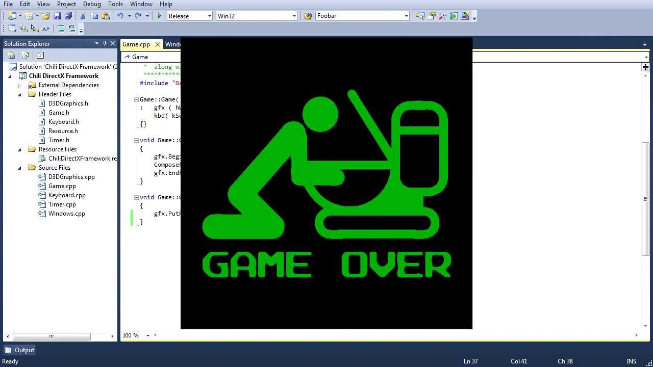 Beginner C++ DirectX Game Programming Tutorial: Lesson 1 - YouTube