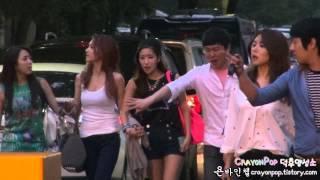 130802 쥬얼리(Jewelry)&김그림 뮤직뱅크 퇴근길 직캠 by 욘바인첼