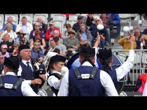 World Pipe band Championships 2017 - Simon Fraser University Medley - [4K/UHD] - Medley