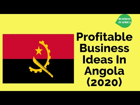 TOP 19 Profitable Business Ideas In Angola You Can Start With Little Capital, Business in Angola