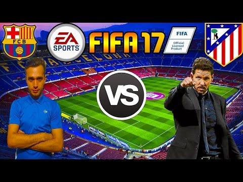 FIFA 17 Cariera Cu Barcelona - Xbraker vs Diego Simeone