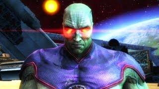 A História do Caçador de Marte: Injustice Gods Among Us (gameplay + final) Xbox 360 / PS3