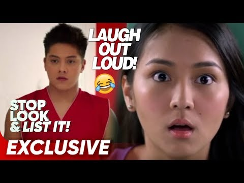 Laugh Out Loud with KathNiel! | Stop, Look and List It!