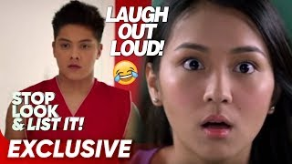 Laugh Out Loud with KathNiel  Stop Look and List It