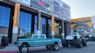 SEMA Show 2019 - Sunday set up day