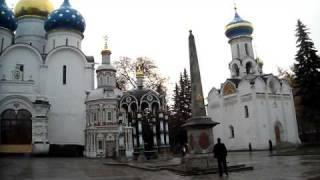 В Троице-Сергиевой Лавре(восемь тридцать утра, 13.10.11., 2011-10-13T14:51:23.000Z)