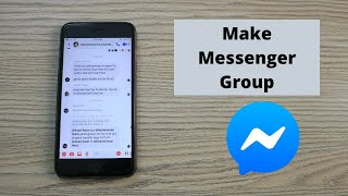 How to Make Group Chats on Messenger (2020)