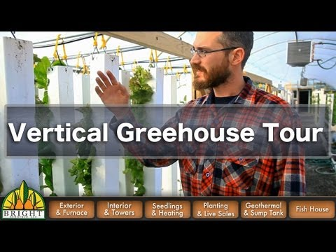 ZipGrow Vertical Greenhouse Tour