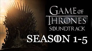 Repeat youtube video Game Of Thrones - Soundtracks Season 1-5