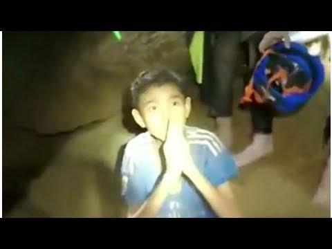 Tailandia ultima el rescate inminente de los 12 niños atrapados en una cueva