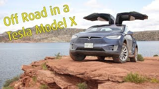 Off Road Tesla Model X