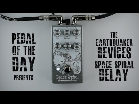 EarthQuaker Devices Space Spiral™ Modulated Delay Guitar Effects Pedal Demo  Video