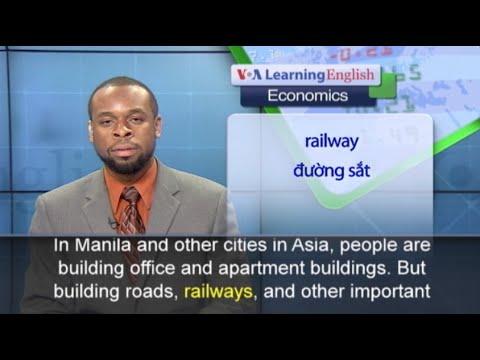 Phát âm chuẩn cùng VOA - Anh ngữ đặc biệt: Asia Infrastructure (VOA)