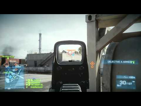 8000 Punkte / 50+ Kills Battlefield 3 Live Rush auf Kharg Is