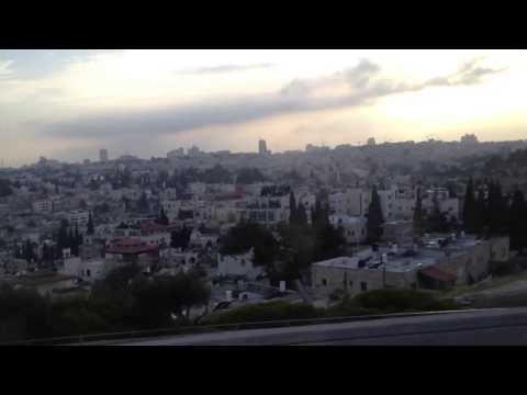 Entering Jerusalem