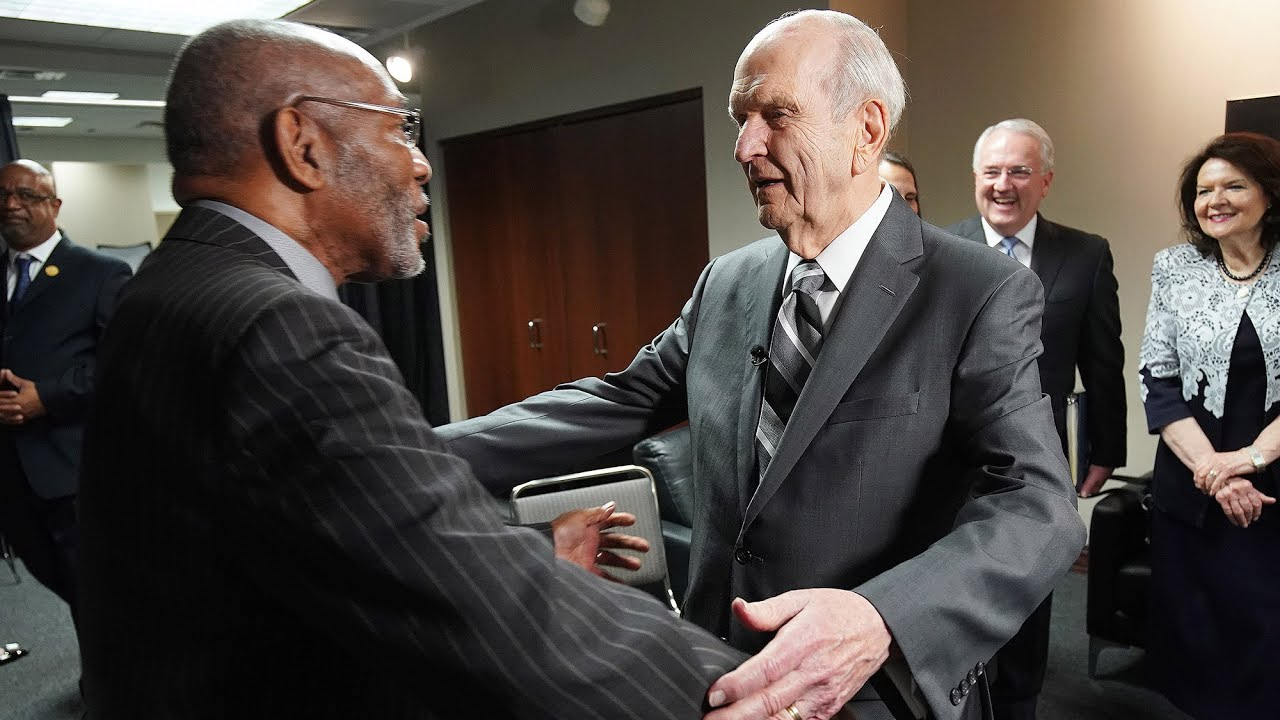 LDS Pres. Russell M. Nelson, NAACP leaders call on Americans to root out racism   KUTV