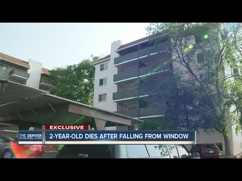 Toddler dies after falling from 6th-floor window at Denver apartment complex