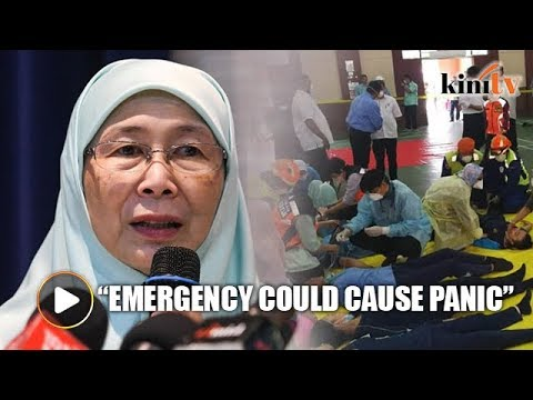 Wan Azizah: Declaring emergency could cause panic