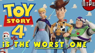 Why Toy Story 4 Is the WORST One - NitPix