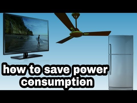Power consumption in a unit to use TV ,Refrigerator, AC etc