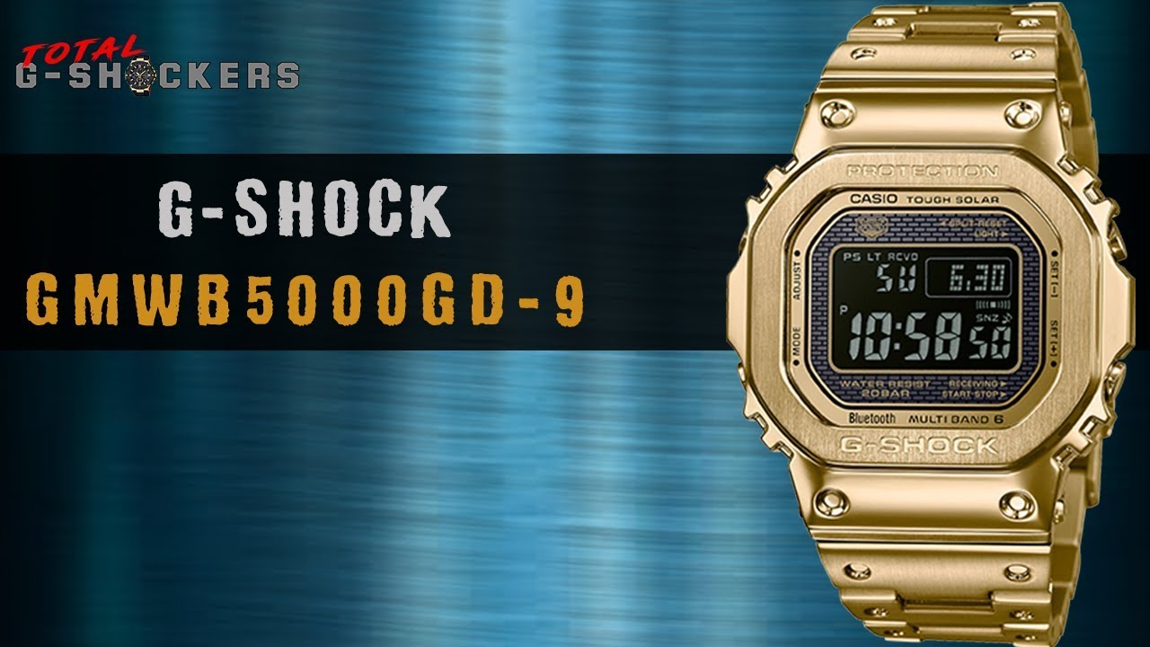 f91a6d7237 Casio G Shock GOLD Full Metal Square GMWB5000GD-9 | Top 10 Things Watch  Review