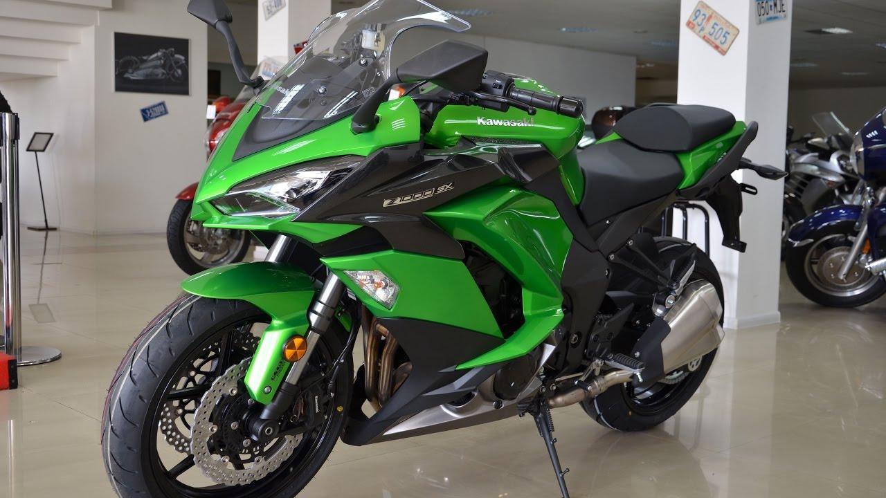 Новый мотоцикл эндуро Kawasaki Versys X 300 2017 года - YouTube