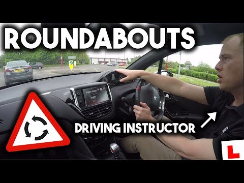 How To Use Roundabouts with a DRIVING INSTRUCTOR
