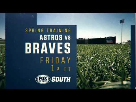Braves Baseball on FOX Sports South and FOX Sports Southeast