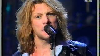 Bon Jovi - Hey God (Europe Music Awards 1995)