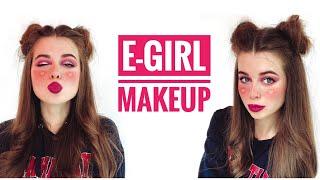 Макияж в стиле E girl E girl makeup