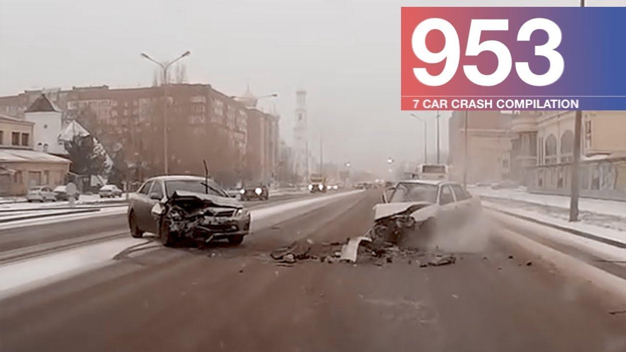 Car Crash Compilation 953 - February 2018 - YouTube